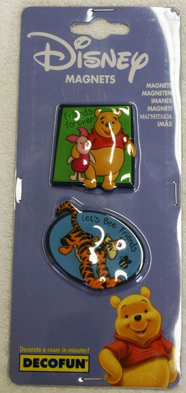 Click for larger view of Disney Pooh Piglet And Tigger Magnets