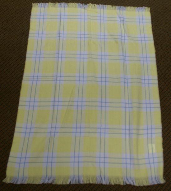 Mora Baby Nursery Car Blanket Yellow 70x100 Cm Childrens