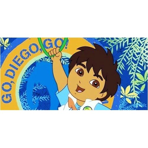 Go Diego Go Dora Explorer Towel - Childrens Bedding Direct