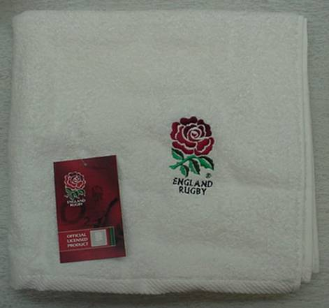 England Rugby Embroidered Bath Towel Amp 2 Hand Towe