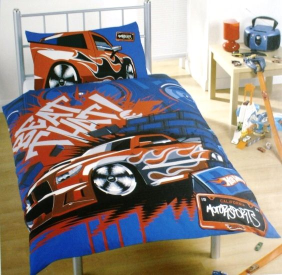 Hot Wheels Cars Duvet Set Childrens Bedding Direct