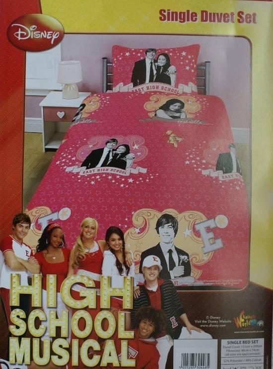 High School Musical Duvet Cove Childrens Bedding Direct
