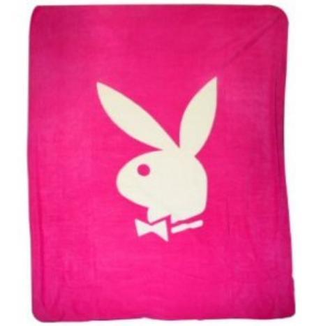 playboy fleece blanket