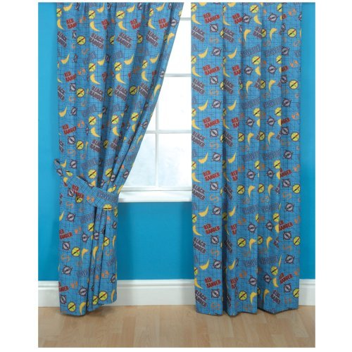 Boys curtains childrens bedding direct for Childrens curtains uk